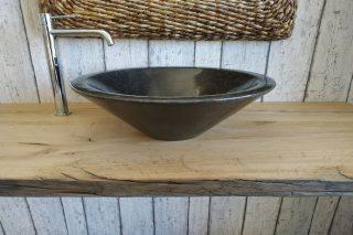 Washbasin in Marble Black