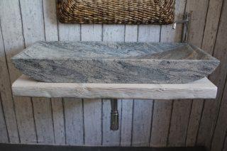 juparana granite sink