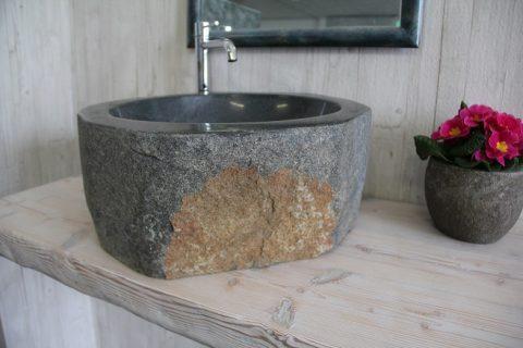 sink stone bathroom