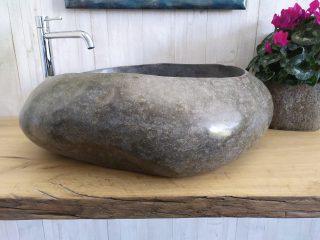 Stone sink full polish